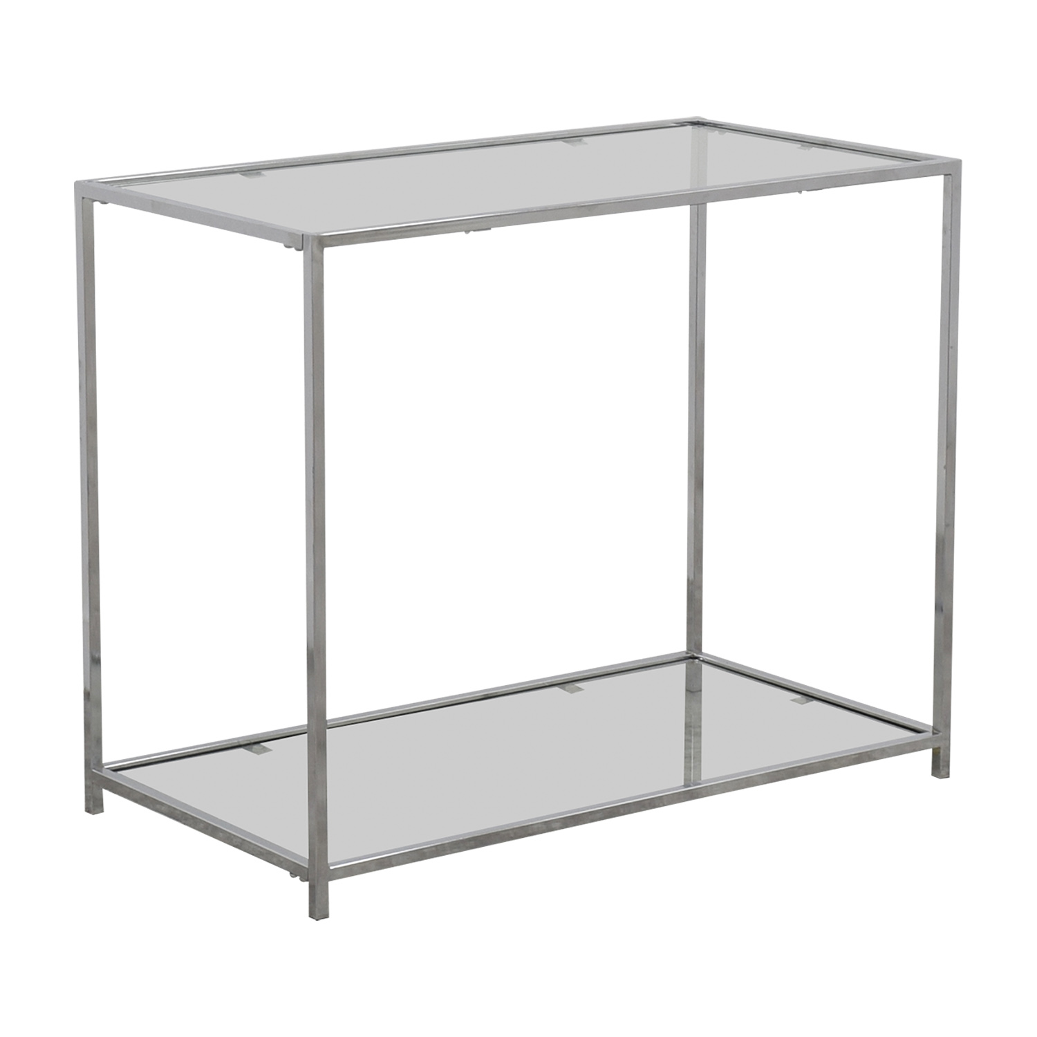 Metal and Glass Console Table for sale