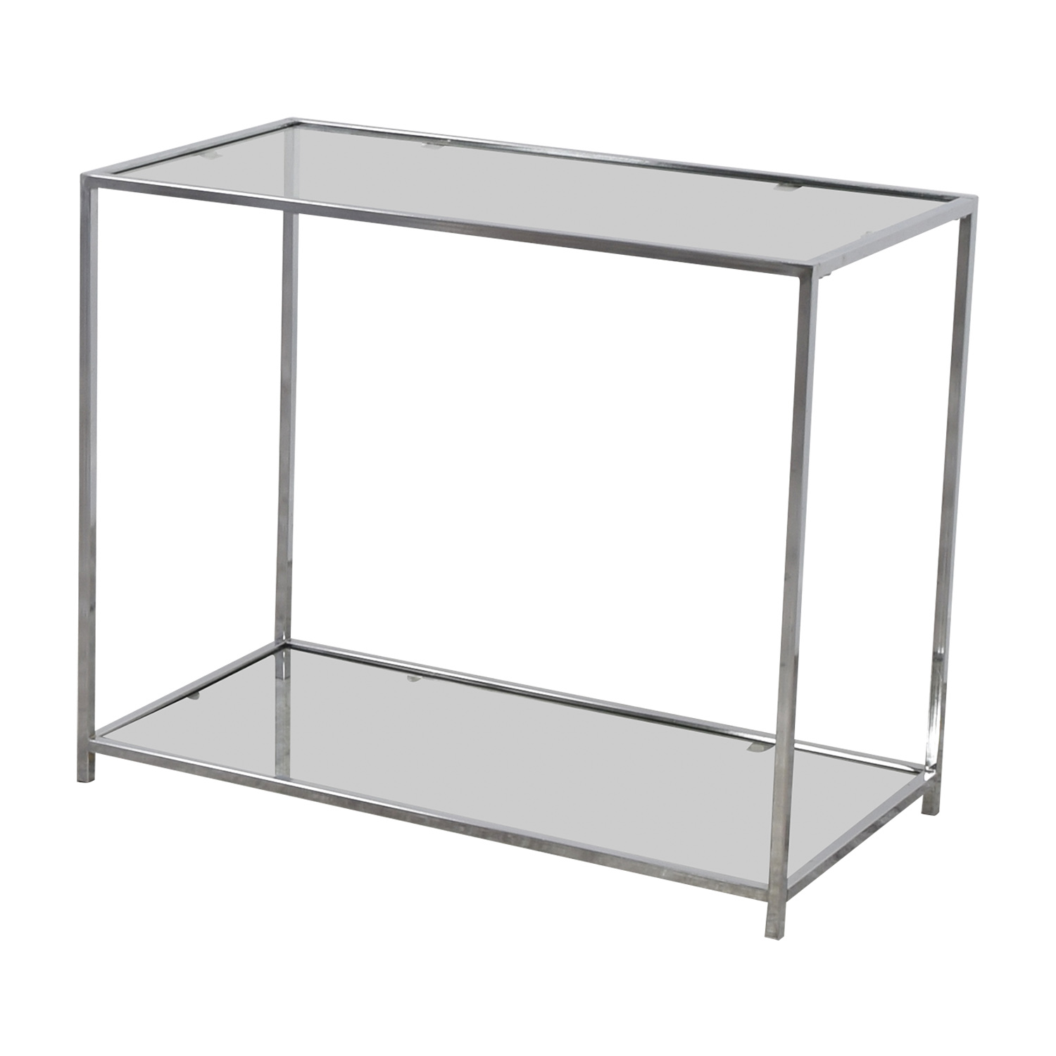 buy Metal and Glass Console Table