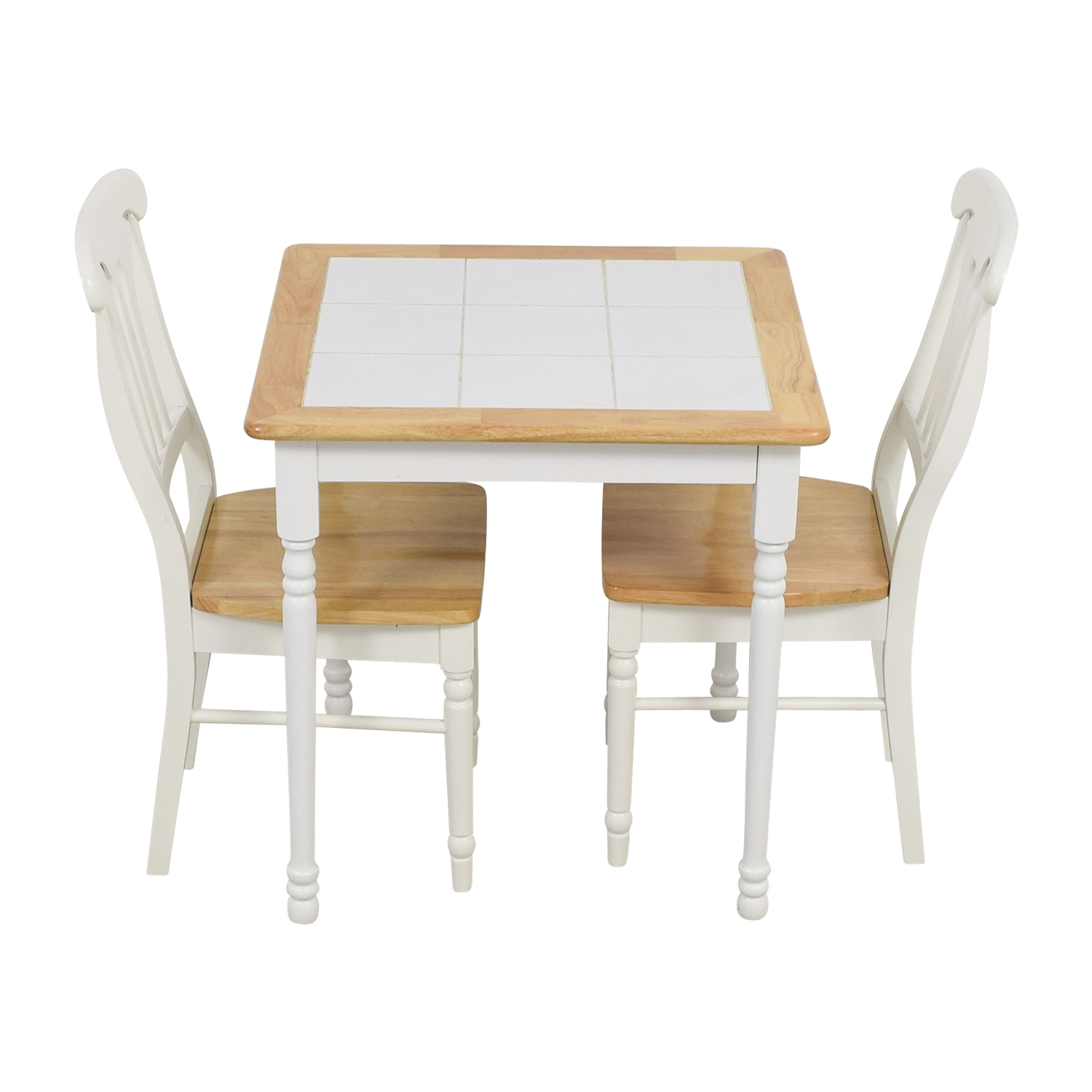 shop Coaster Coaster White Tile Dining Set online