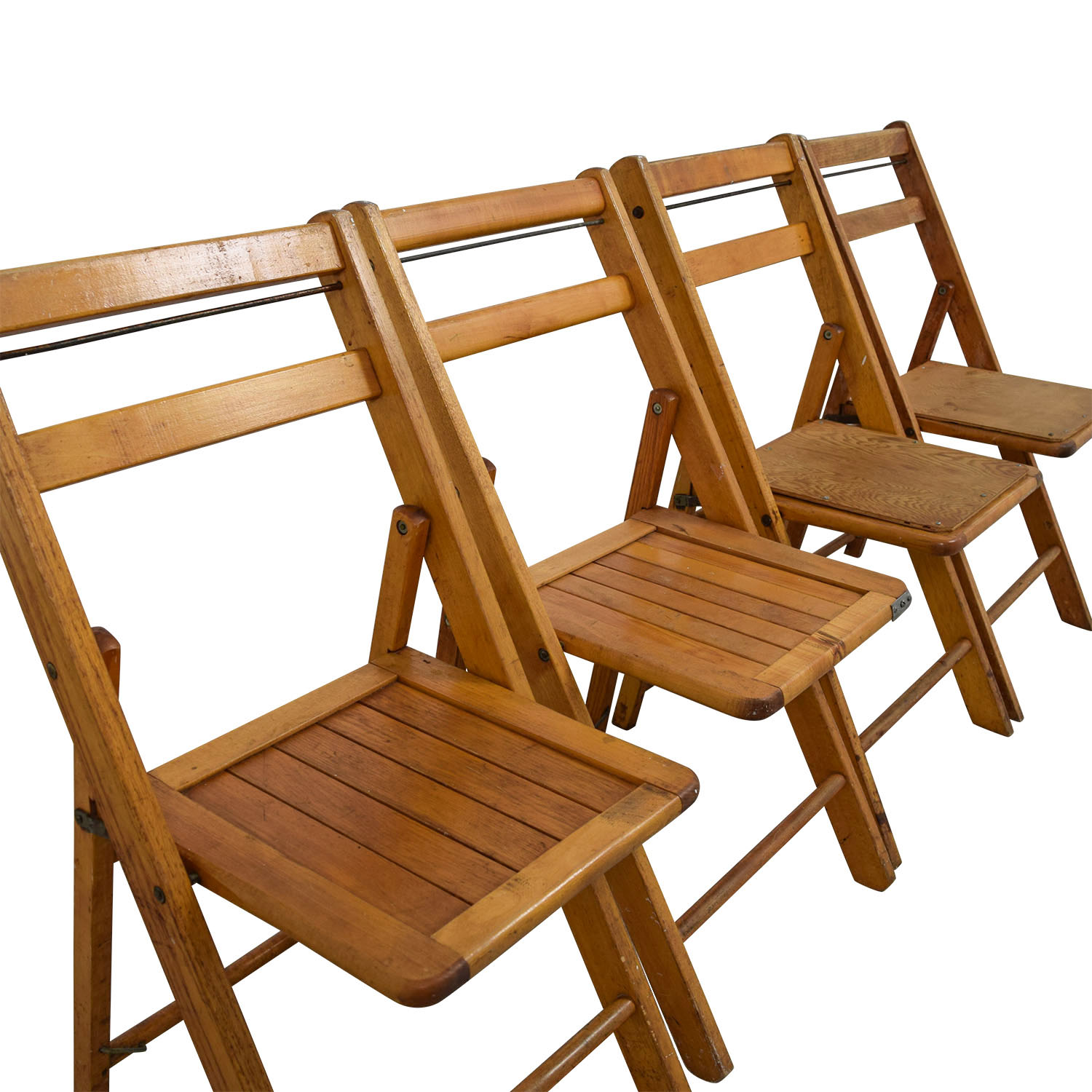 Rustic Wood Folding Chairs Chairs