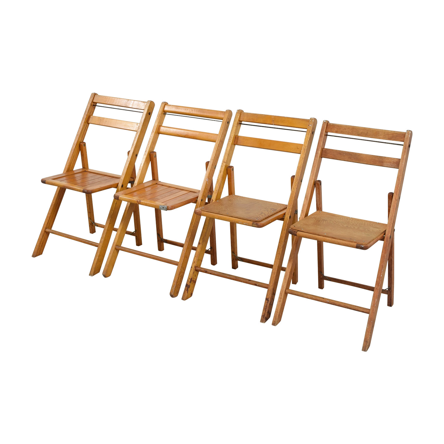 shop Rustic Wood Folding Chairs Chairs