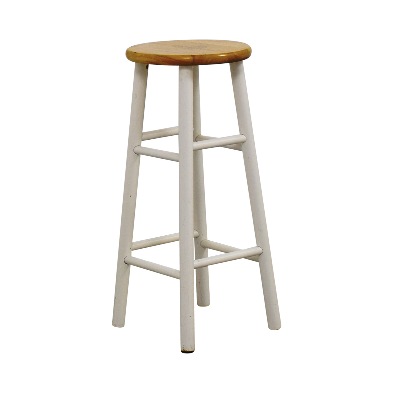 Off White Wooden Bar Stools Mark Webster Padstow Off