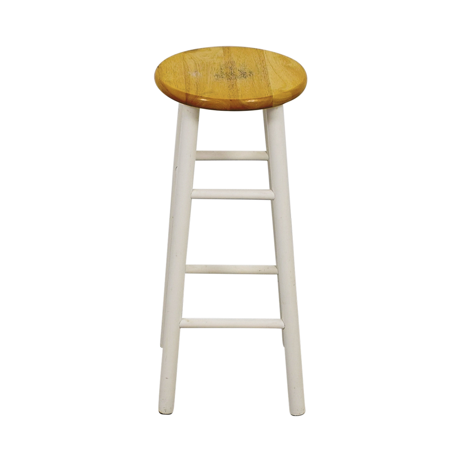 shop White Wood Barstool online
