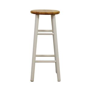buy  White Wood Barstool online