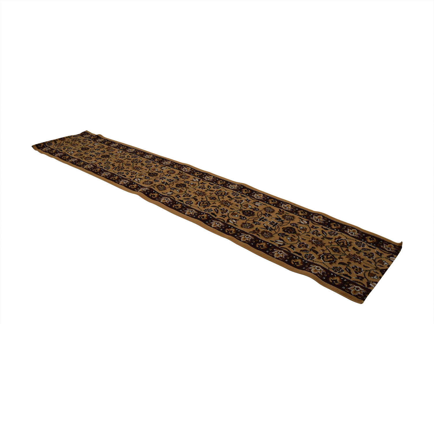 shop Brown Floral Rug Runner Rugs