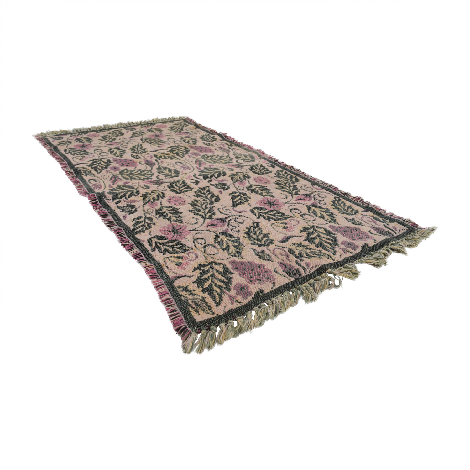 shop Floral and Grape Rug