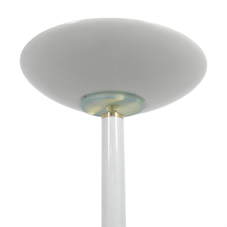 buy White Metal Floor Lamp online