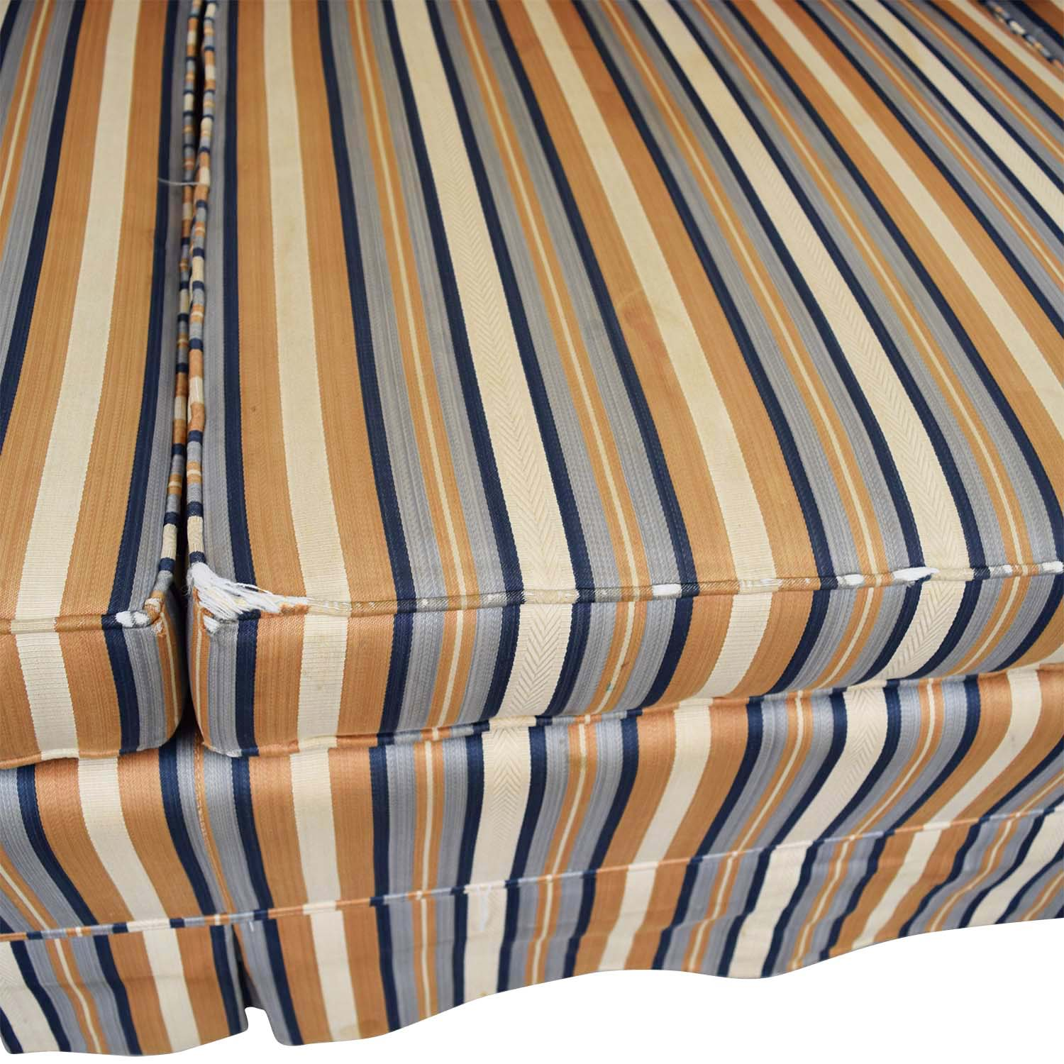 Striped Three-Seater Sofa nyc