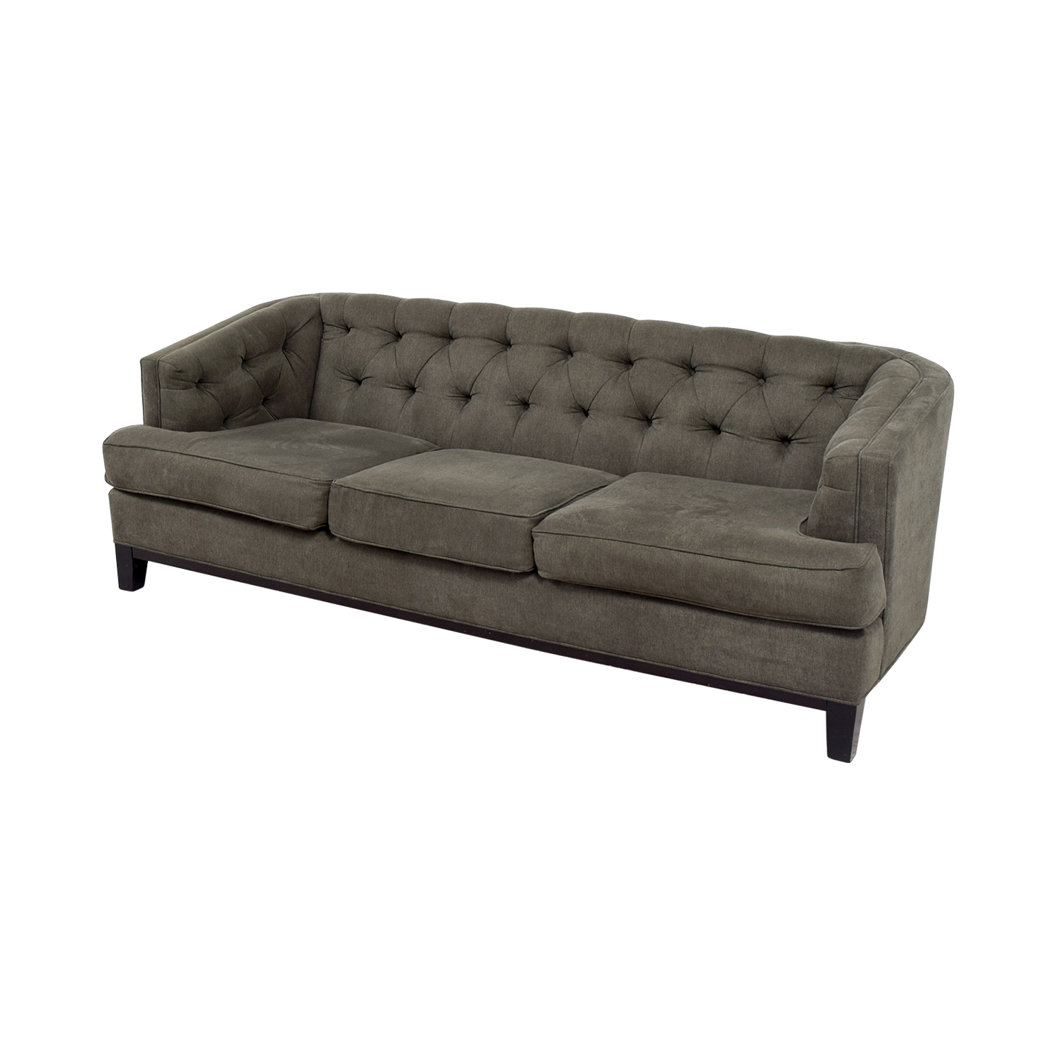 73 off rooms to go rooms to go tufted sofa sofas. Black Bedroom Furniture Sets. Home Design Ideas