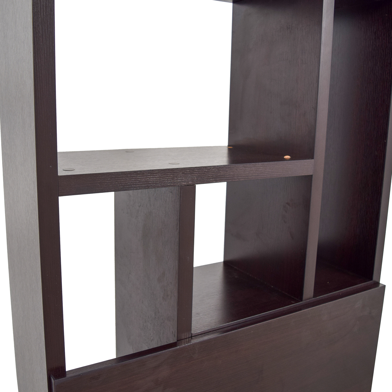 Straight from the Crate Bookshelf with Storage / Bookcases & Shelving