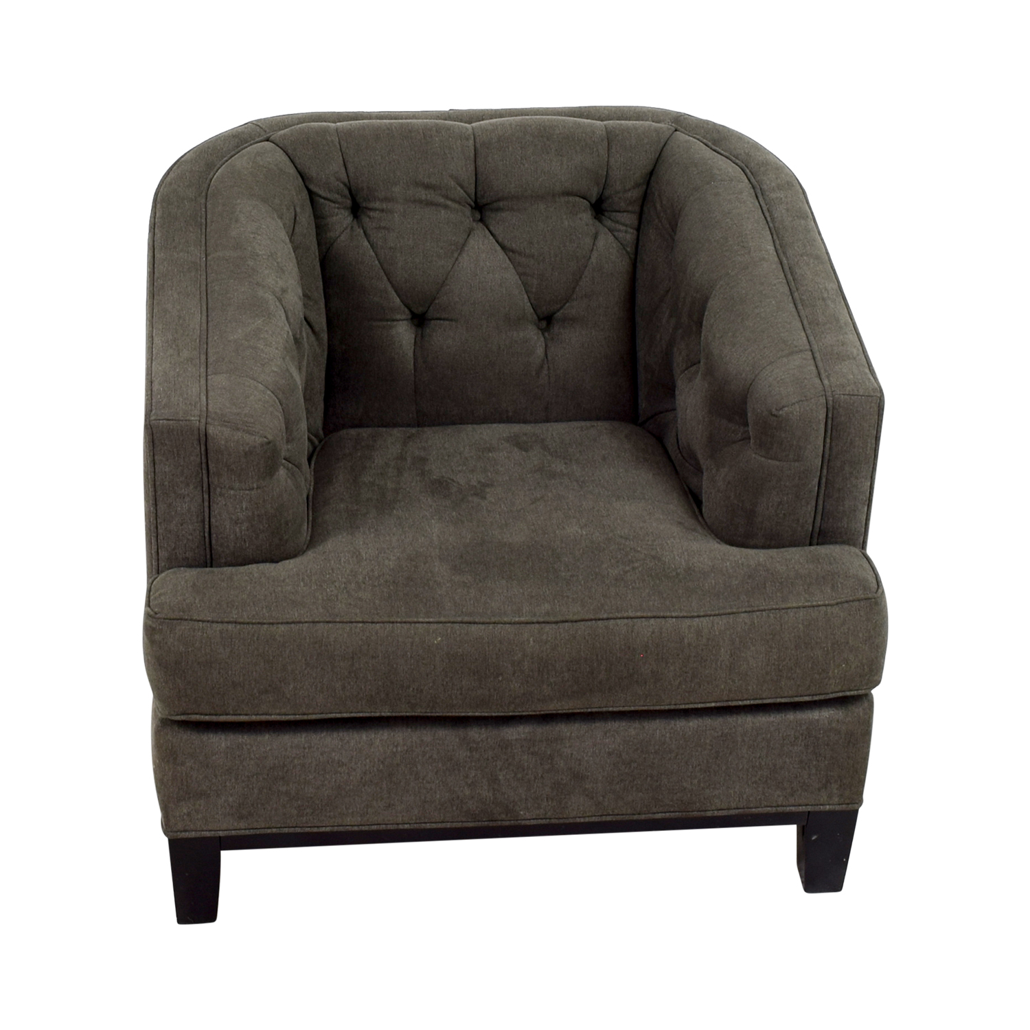 Rooms To Go Rooms To Go Grey Tufted Chair coupon