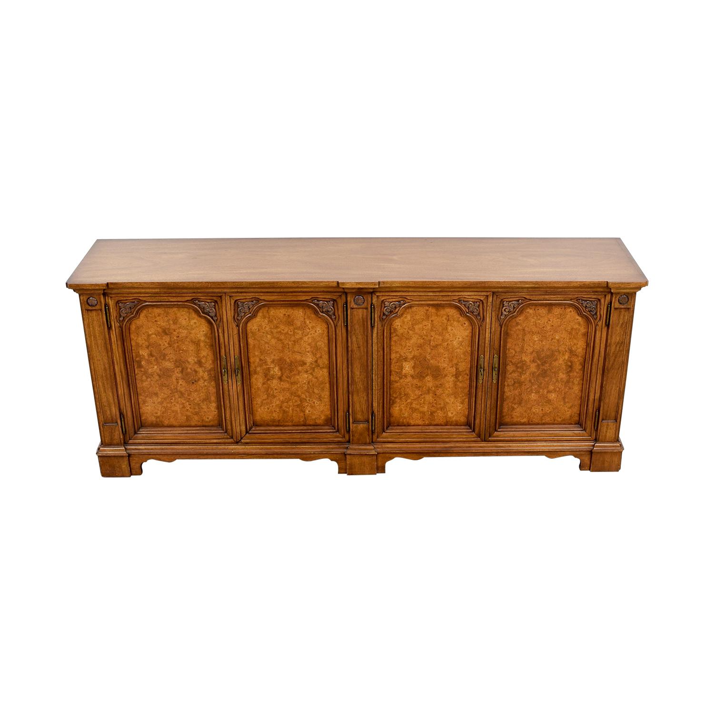 Ornate Wooden Buffet sale