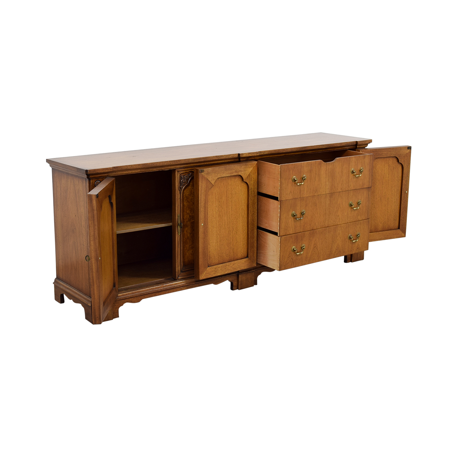 Ornate Wooden Buffet / Cabinets & Sideboards