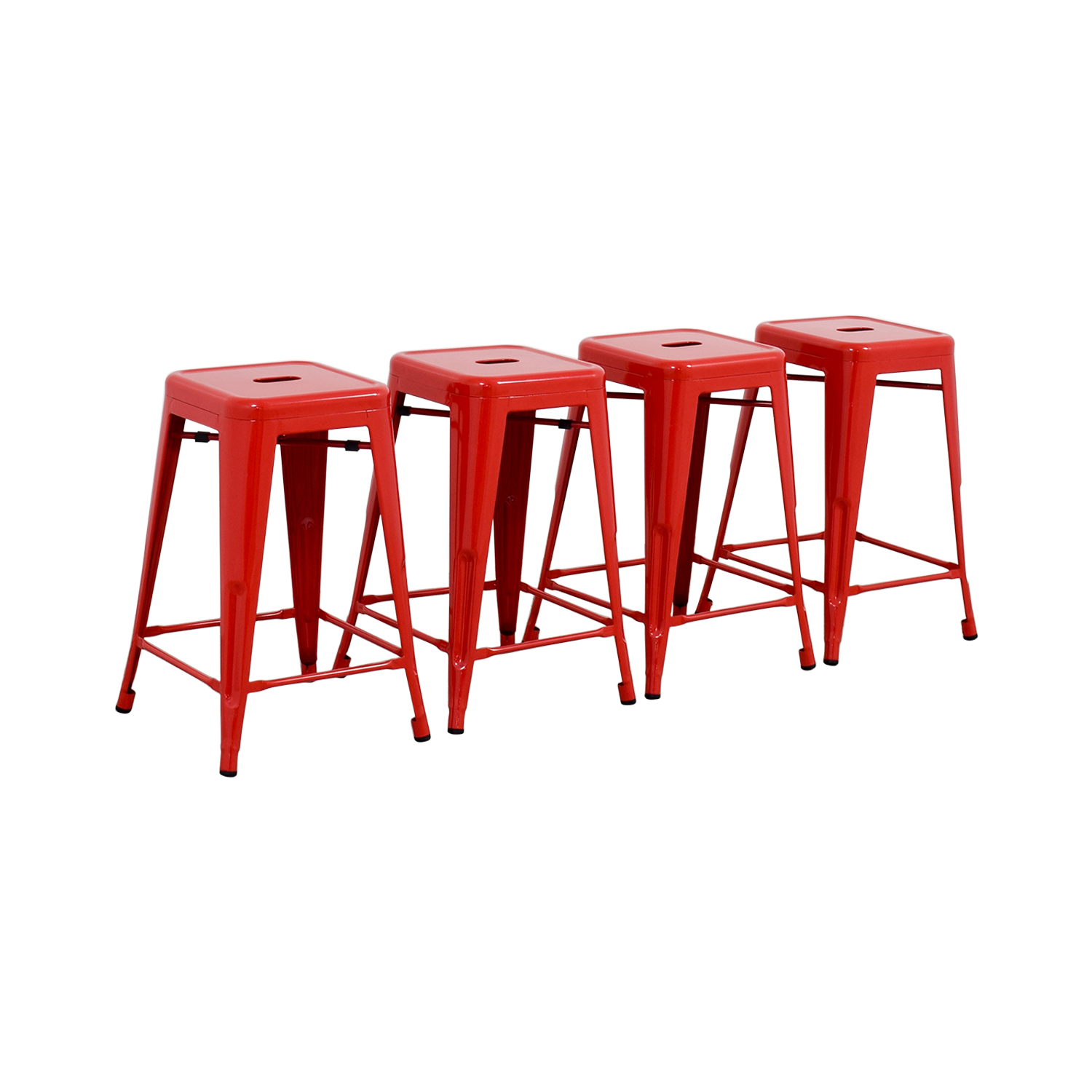 shop Retro Red Barstools online
