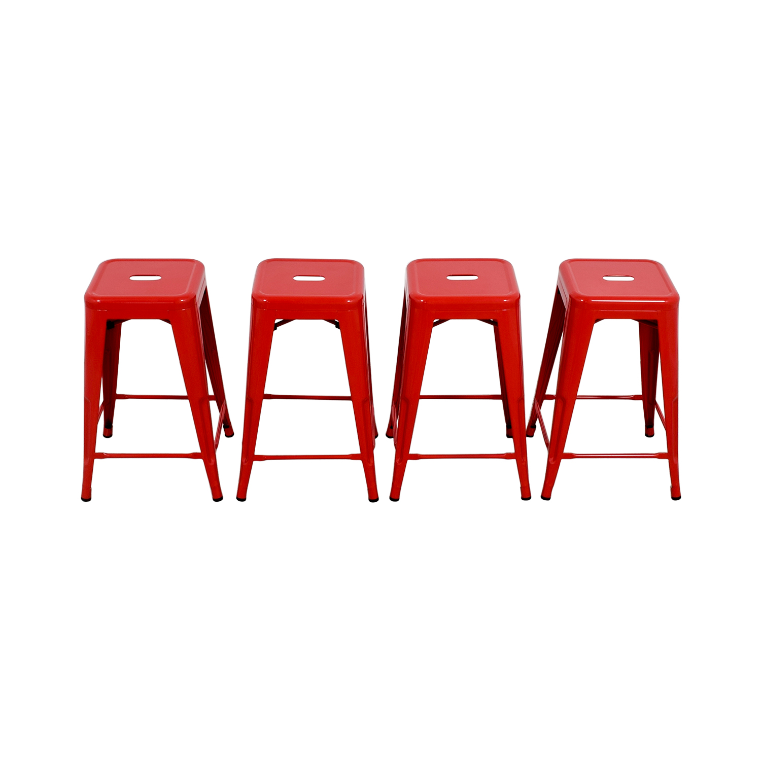 buy Retro Red Barstools Stools