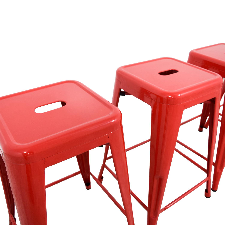 shop Retro Red Barstools Stools