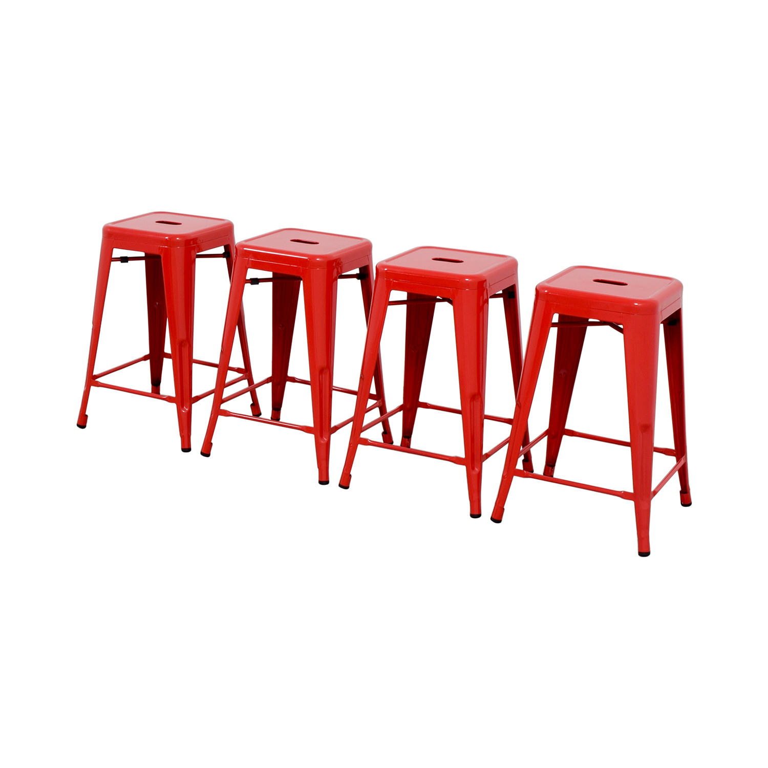 Retro Red Barstools coupon