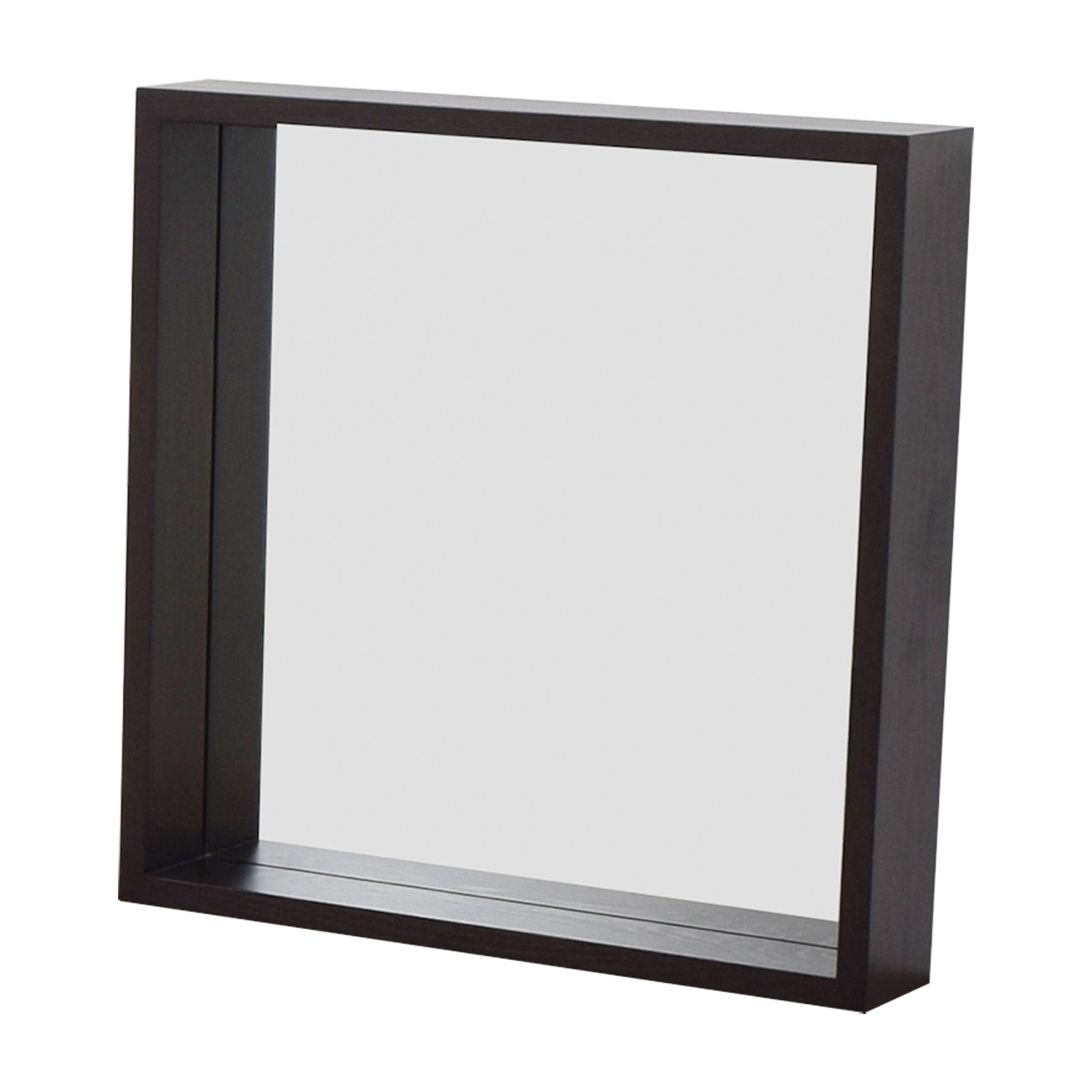 West Elm West Elm Wooden Framed Mirror for sale