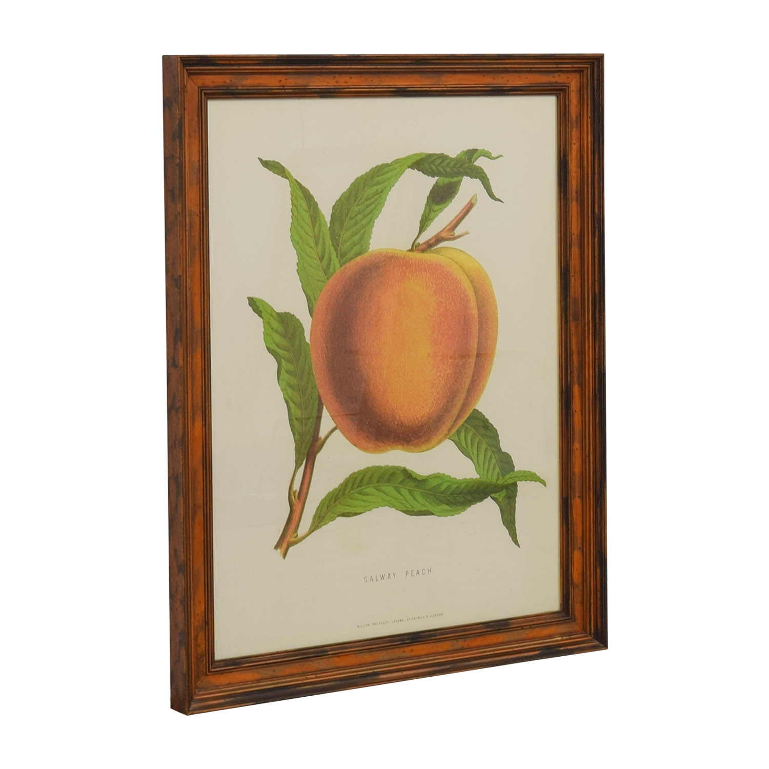 shop William Mackenzie Salway Peach Framed Print