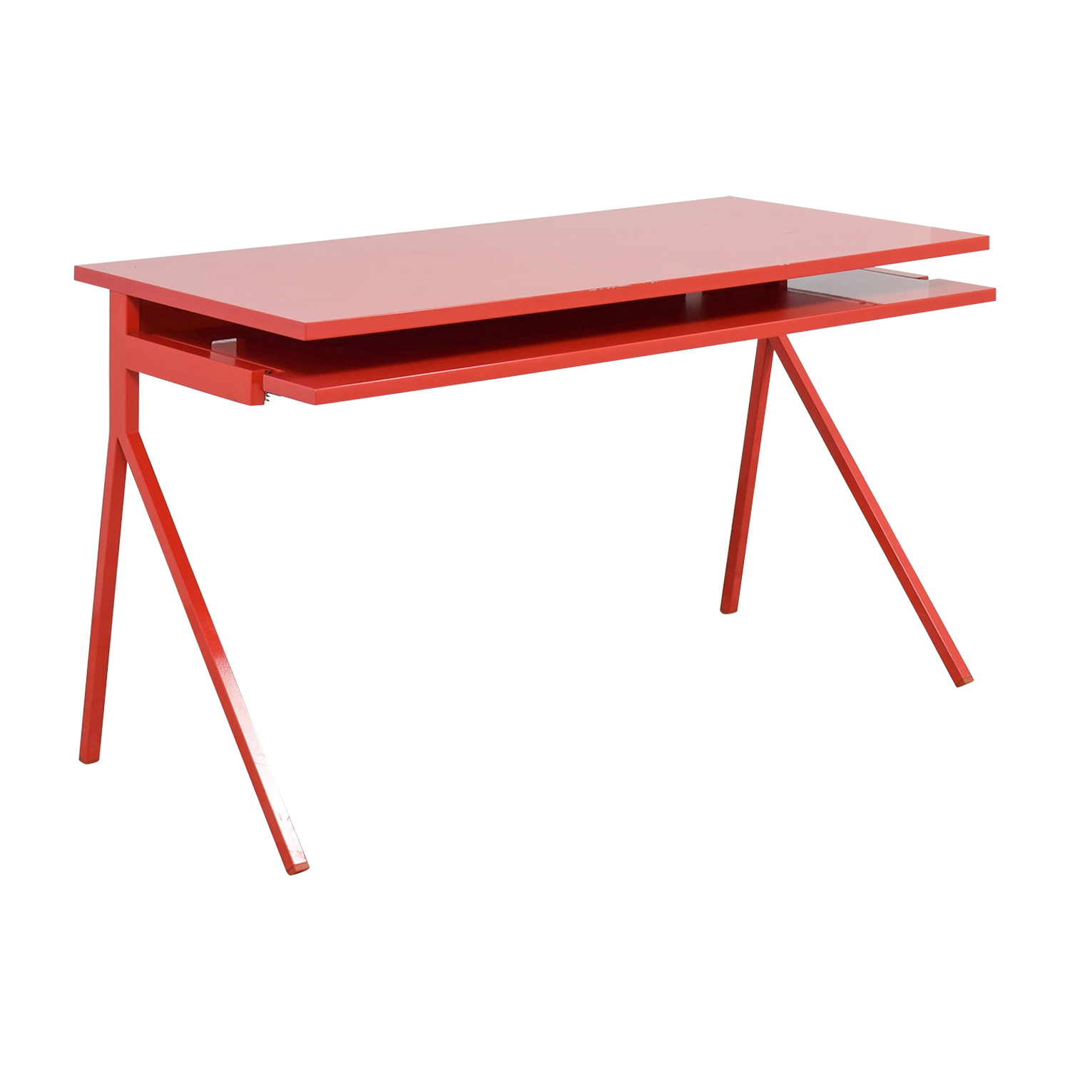Blu Dot Red Desk 51 / Home Office Desks