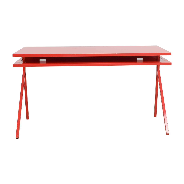 90 Off Blu Dot Blu Dot Red Desk 51 Tables
