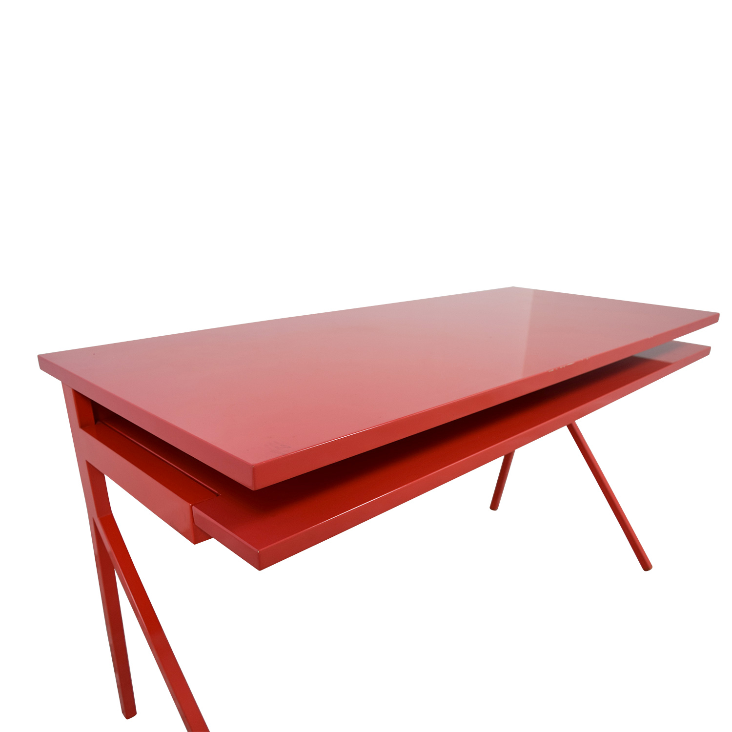 Blu Dot Blu Dot Red Desk 51 red