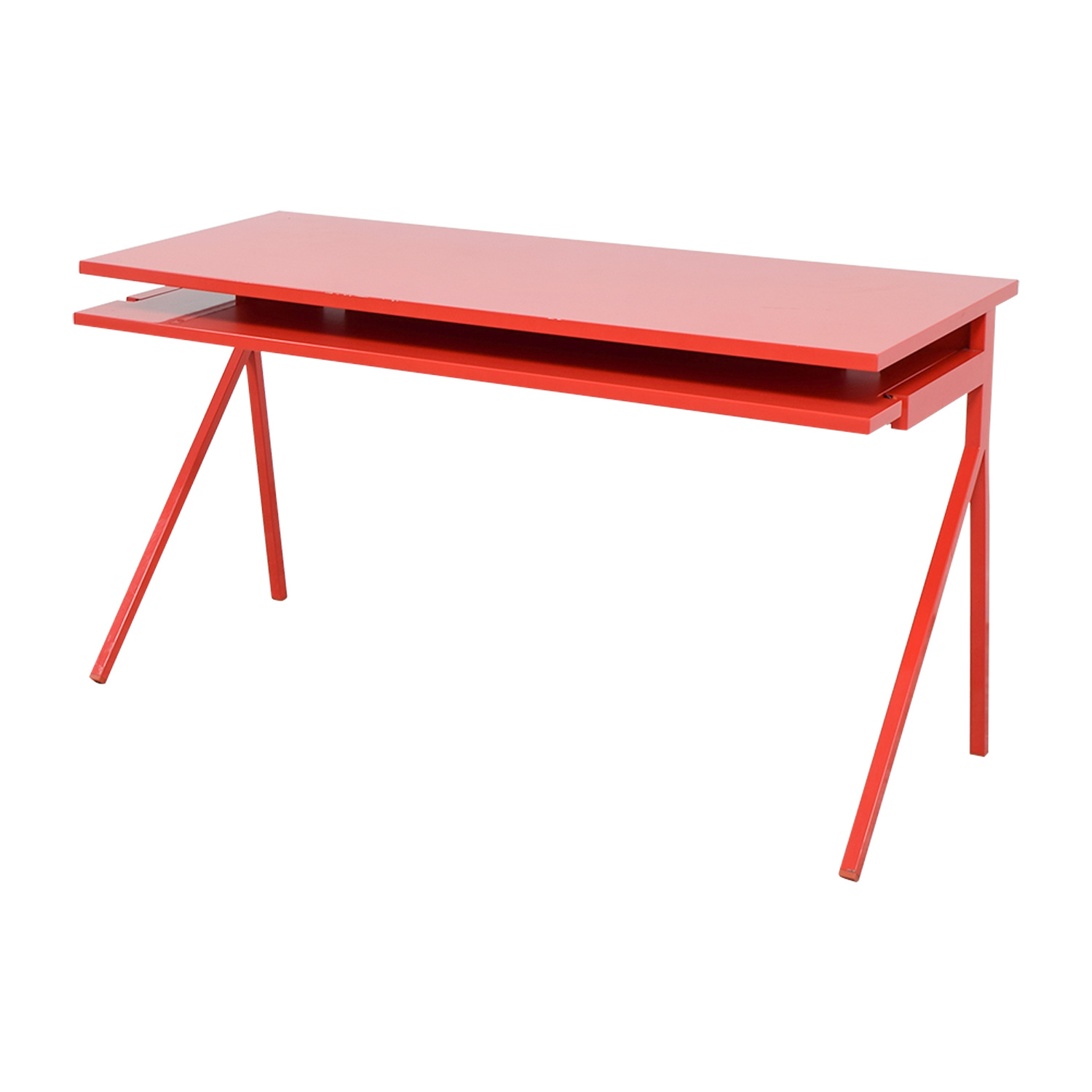 Blu Dot Blu Dot Red Desk 51 dimensions
