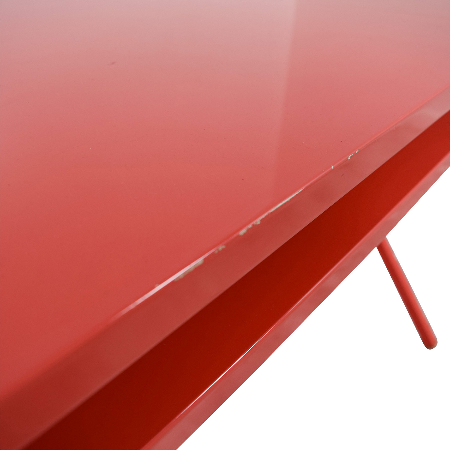 Blu Dot Red Desk 51 Blu Dot