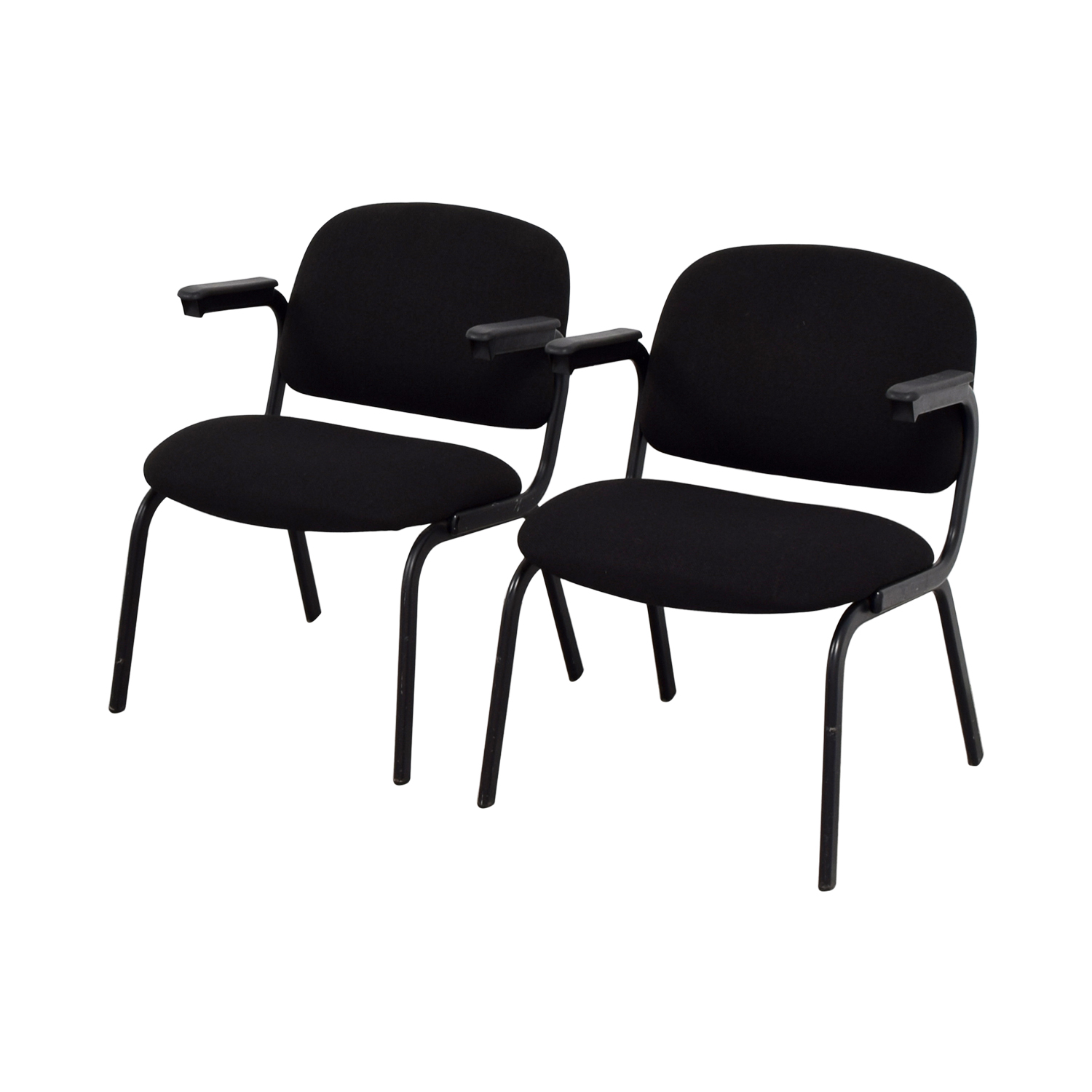 shop United Black Fabric Chairs United Home Office Chairs