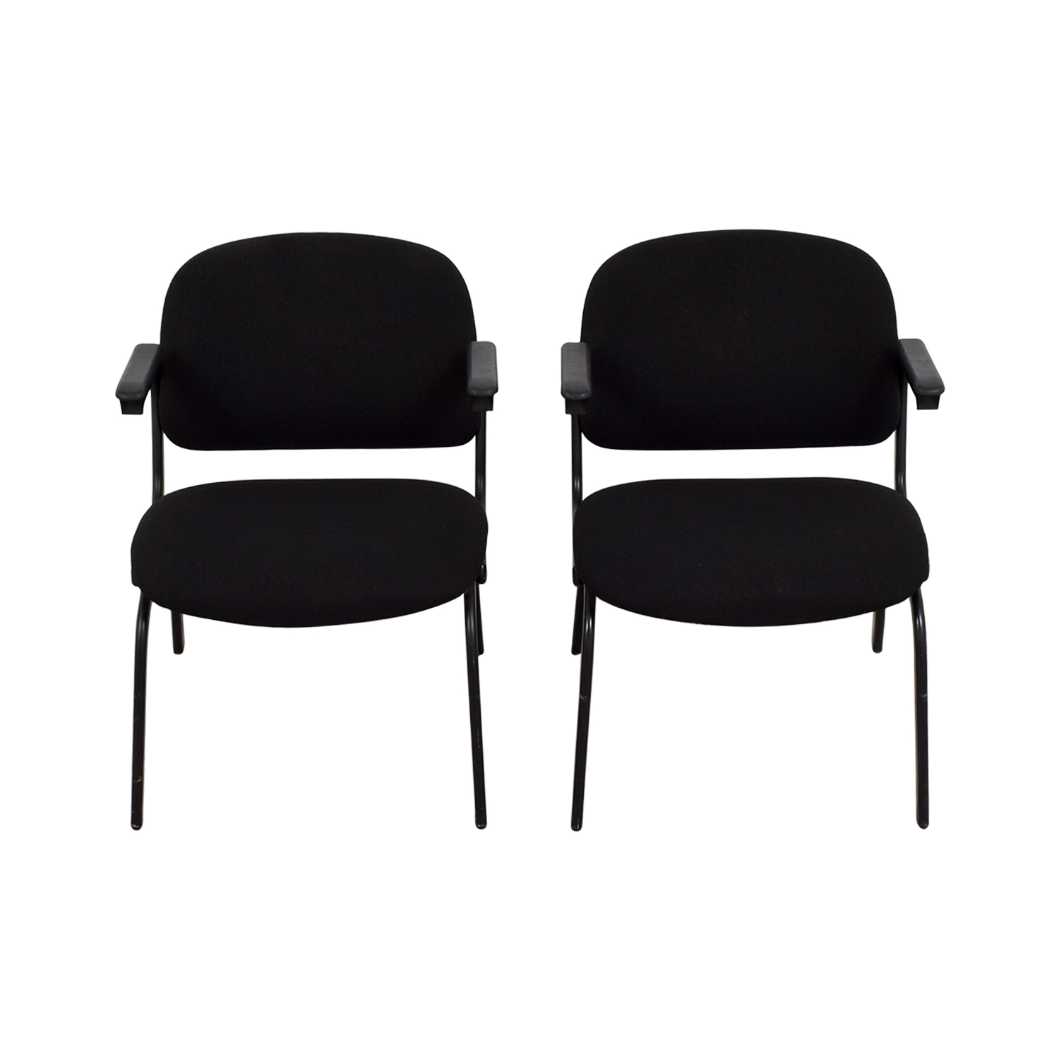 shop United Black Fabric Chairs United Chairs