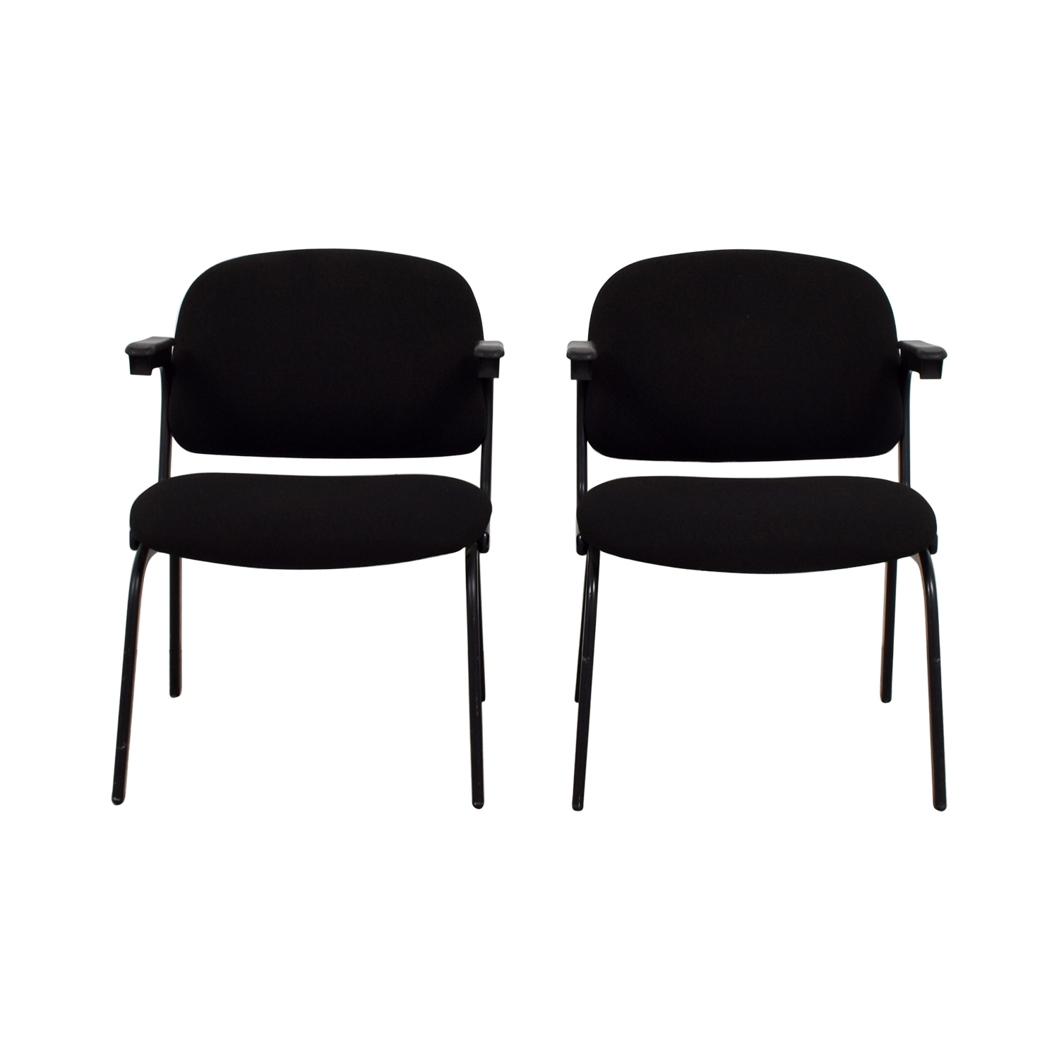 United United Black Fabric Chairs coupon