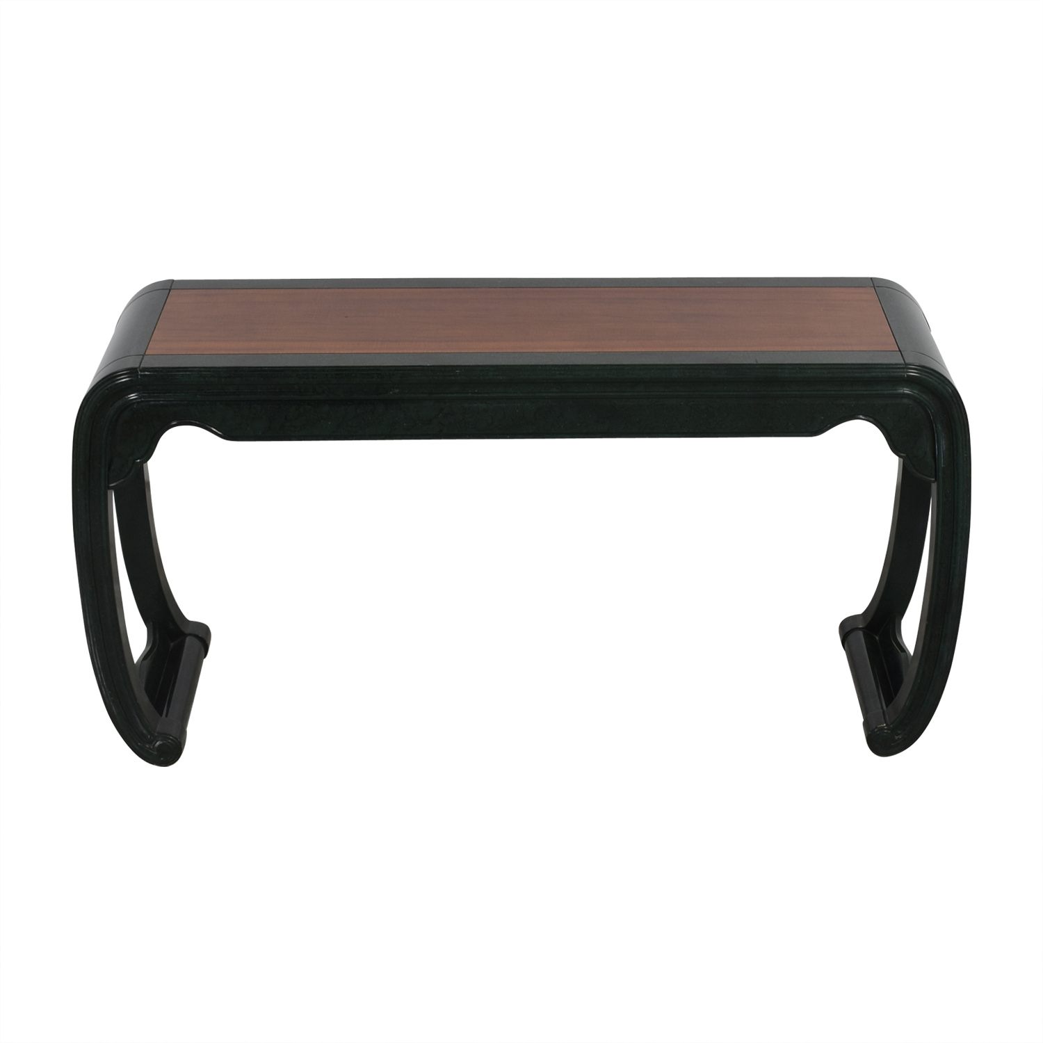 Henredon Henredon Green Sofa Table green/brown