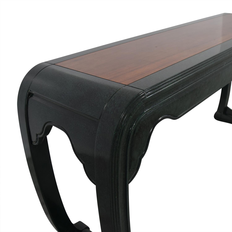Henredon Henredon Green Sofa Table on sale