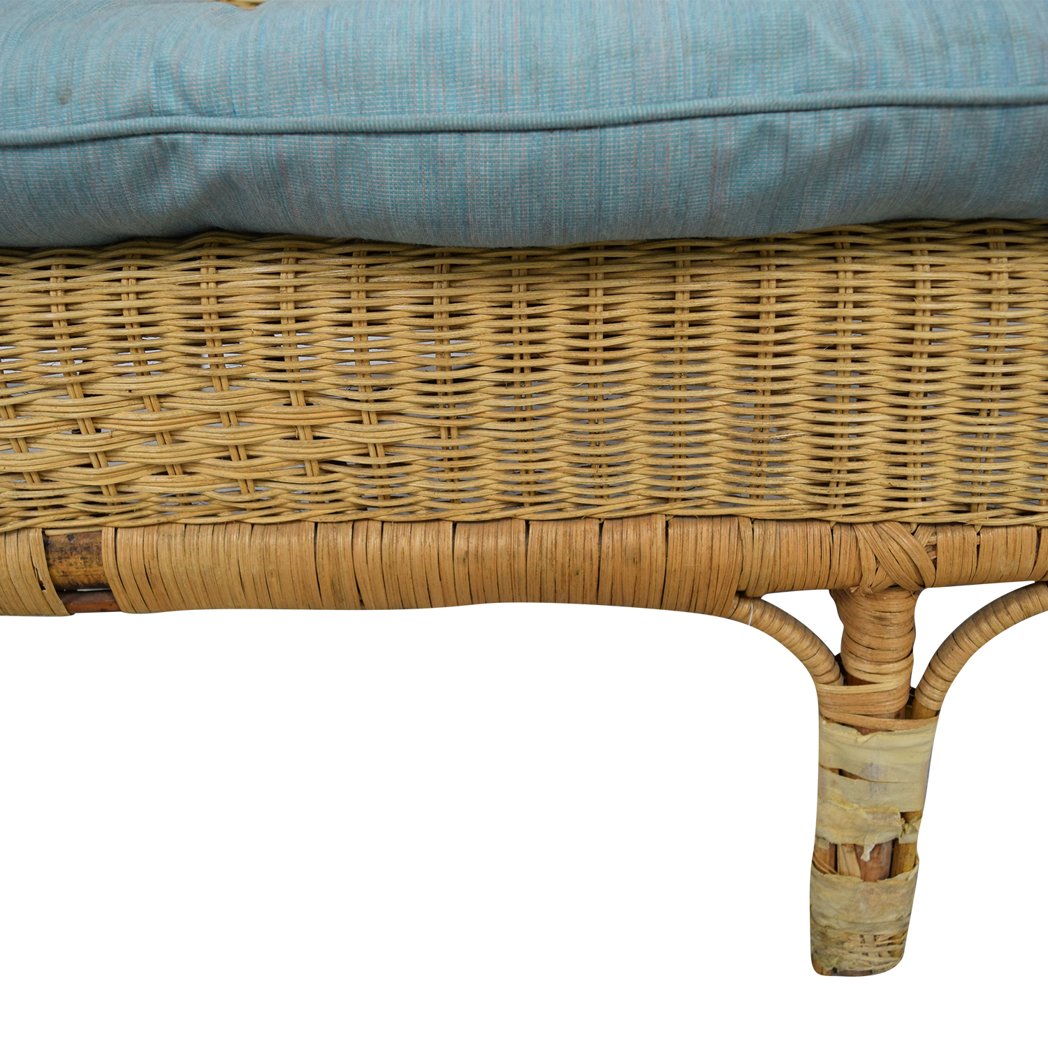 Wicker Loveseat on sale