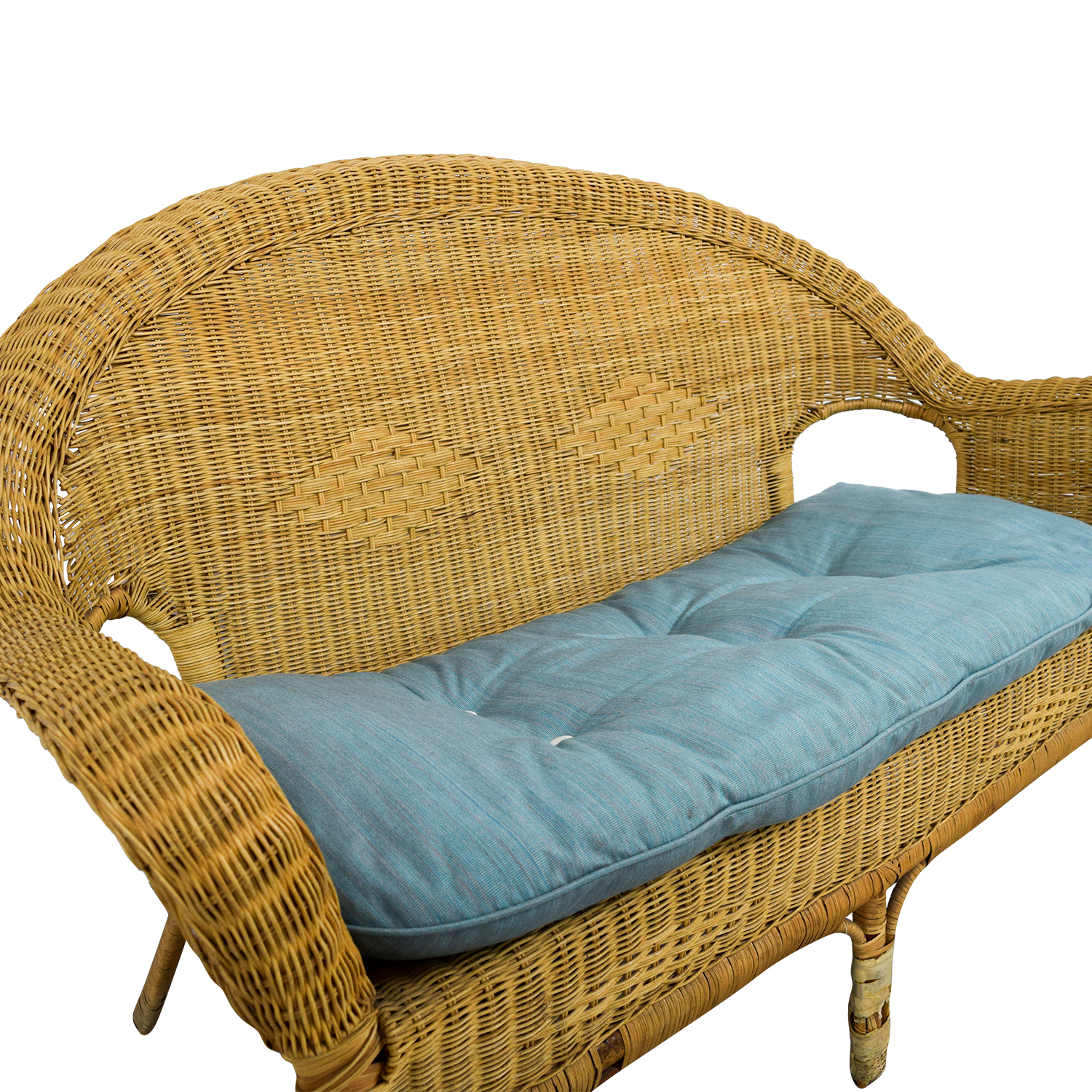 buy Wicker Loveseat Sofas