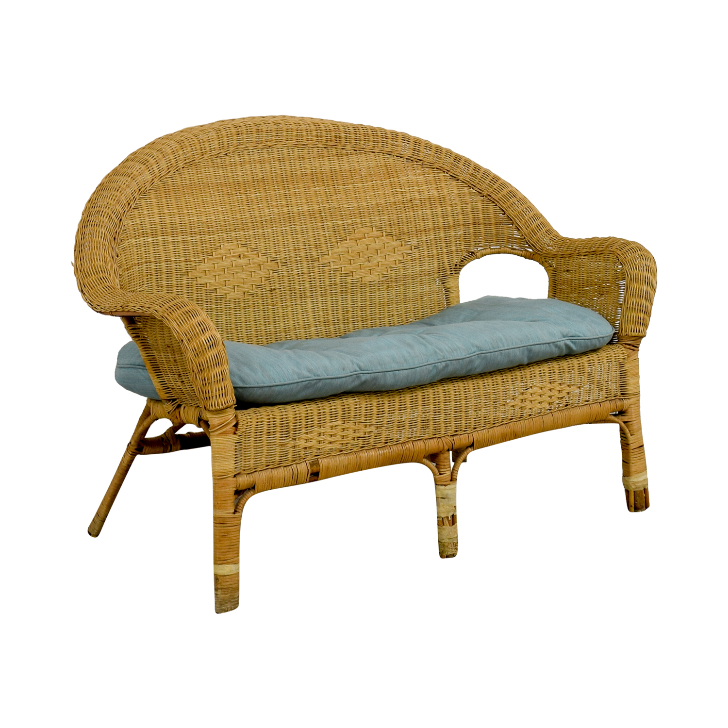 buy Wicker Loveseat