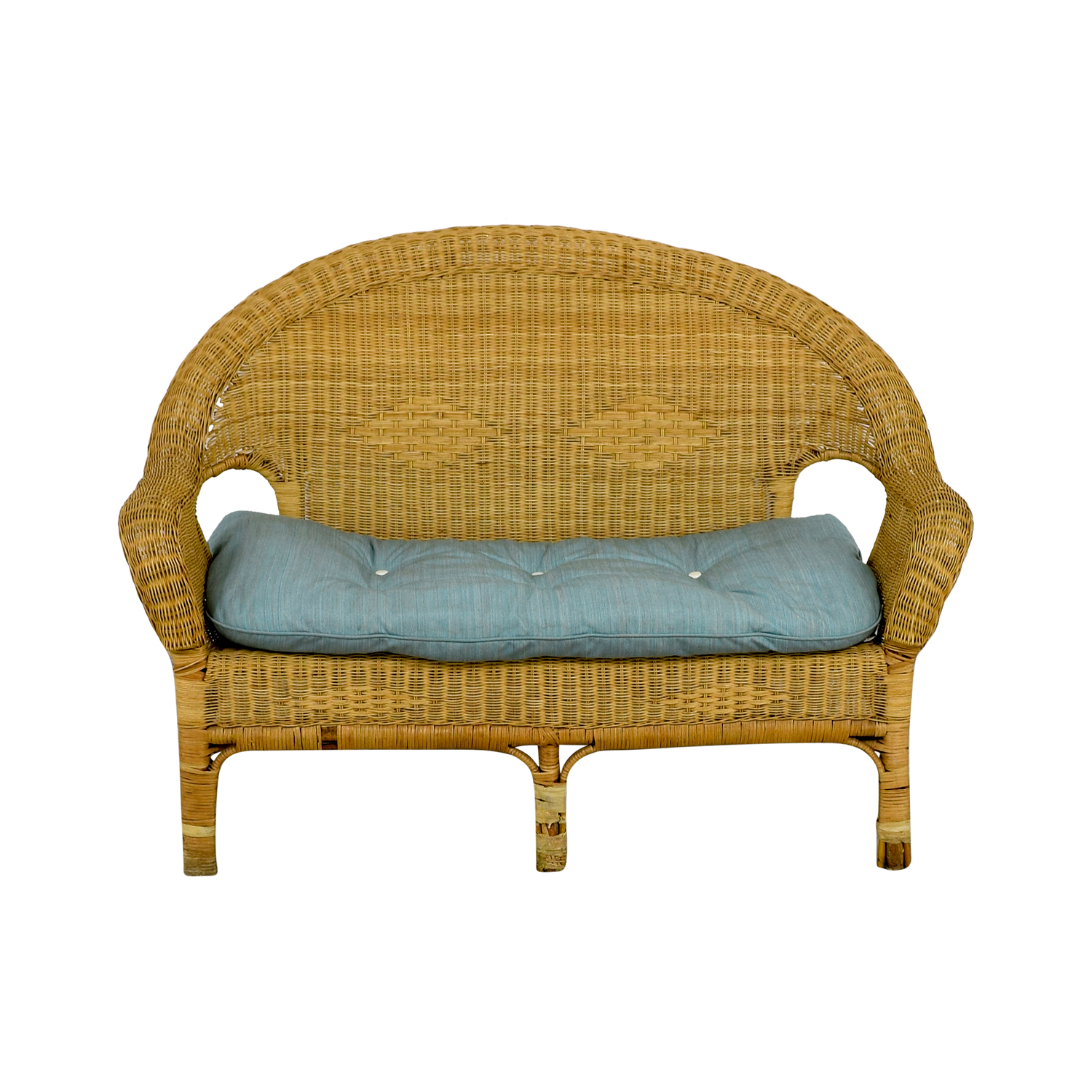 shop Wicker Loveseat Loveseats