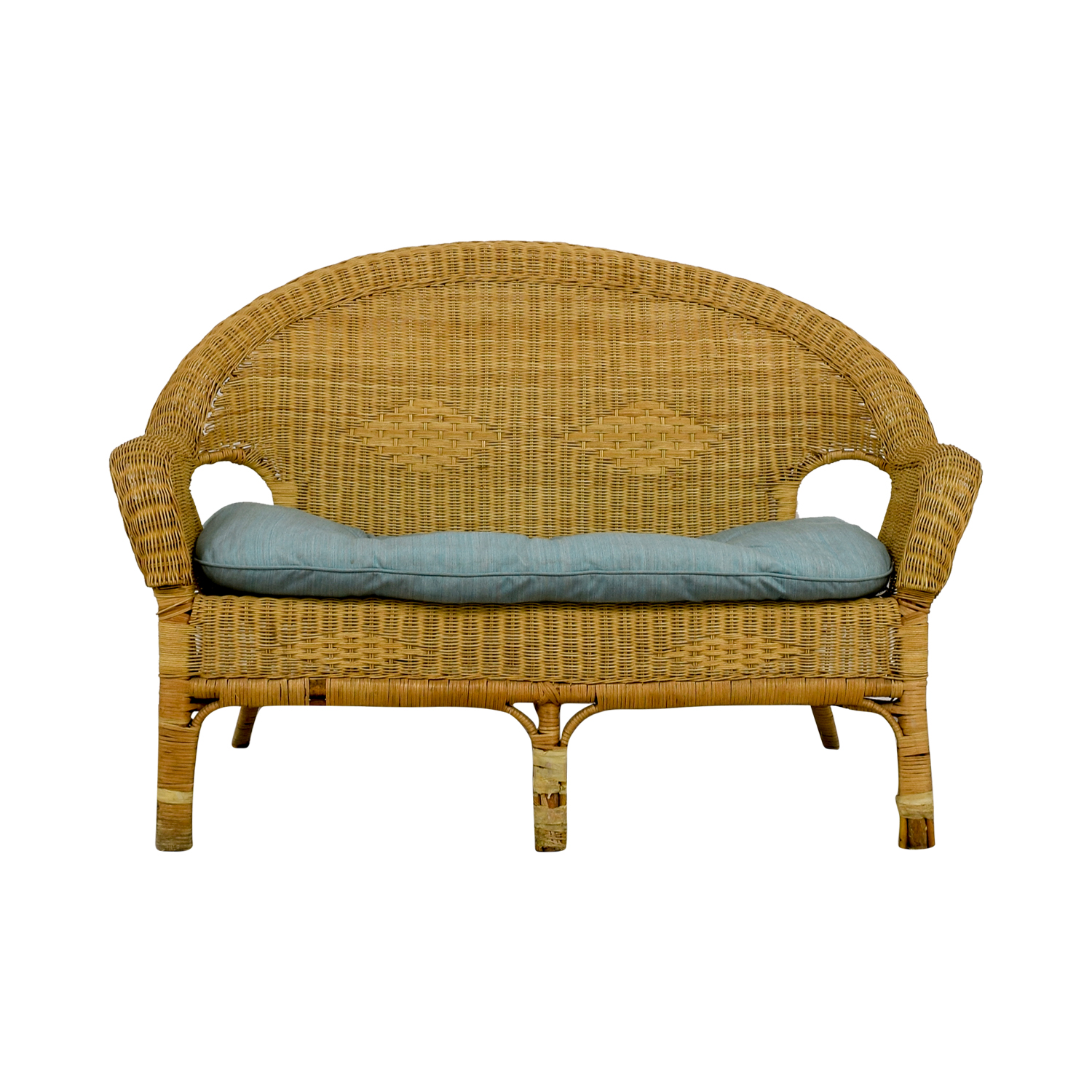 Wicker Loveseat Loveseats