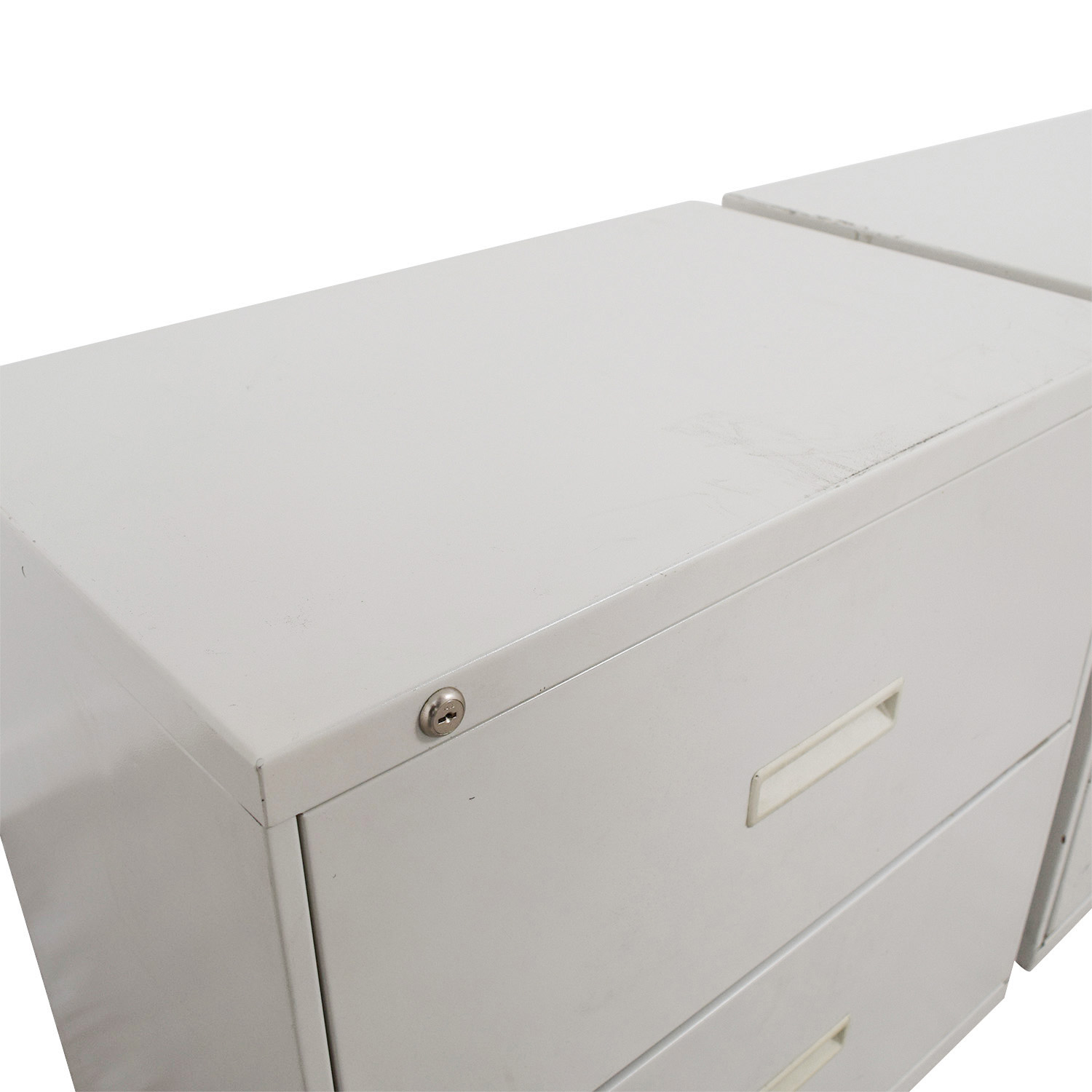 shop Hon Grey Two-Drawer File Cabinets Hon Filing & Bins