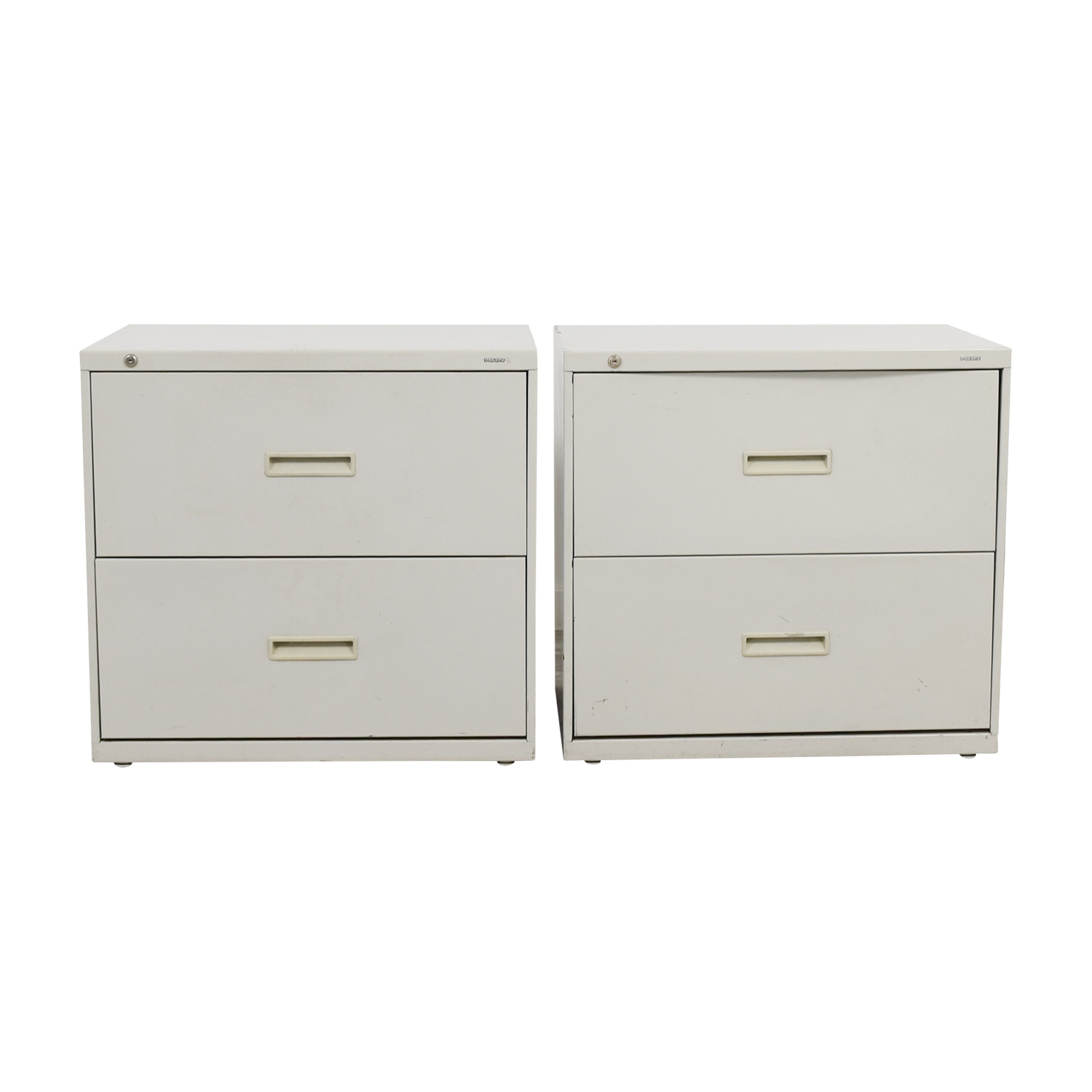shop Hon Grey Two-Drawer File Cabinets Hon Storage
