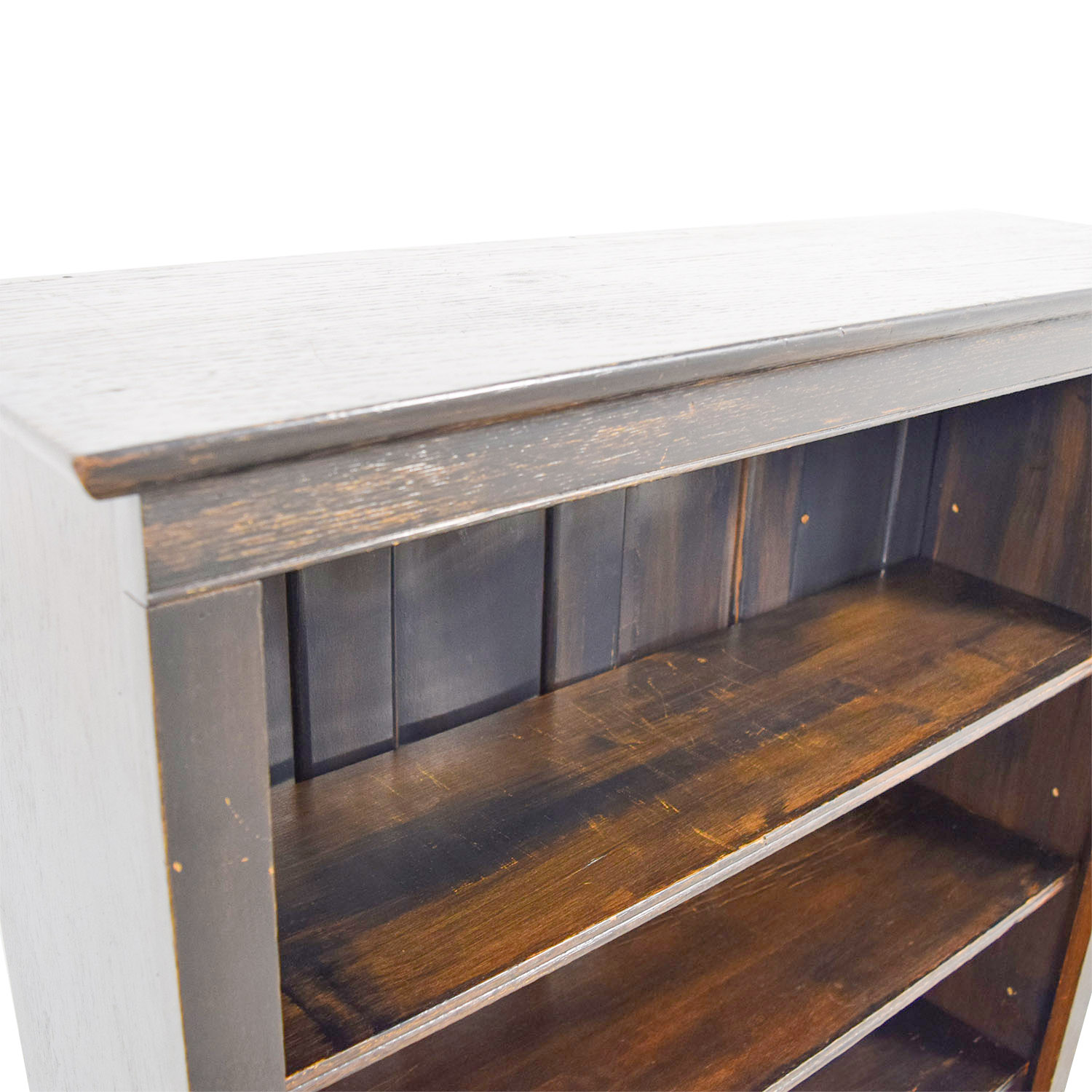 Pottery Barn Rustic Bookcase / Bookcases & Shelving