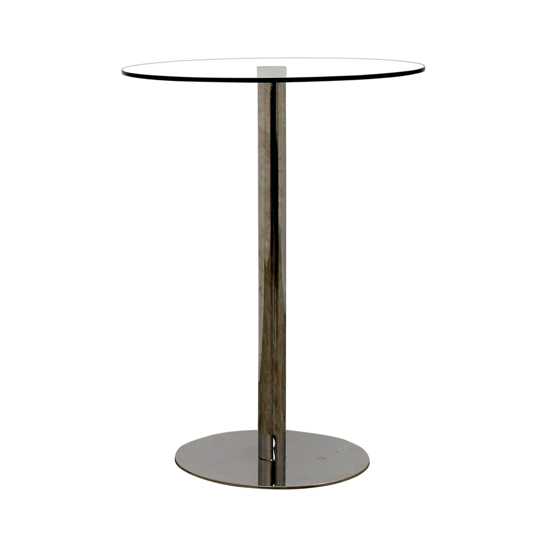 Modani Modani Round Glass Bar Table used