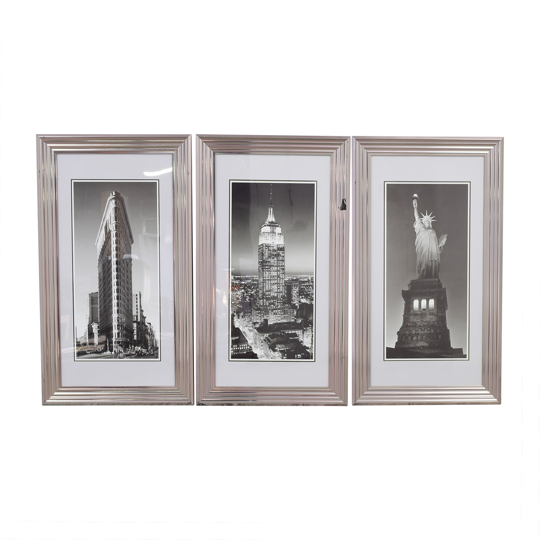 Modani Framed NYC Landmark Prints Modani