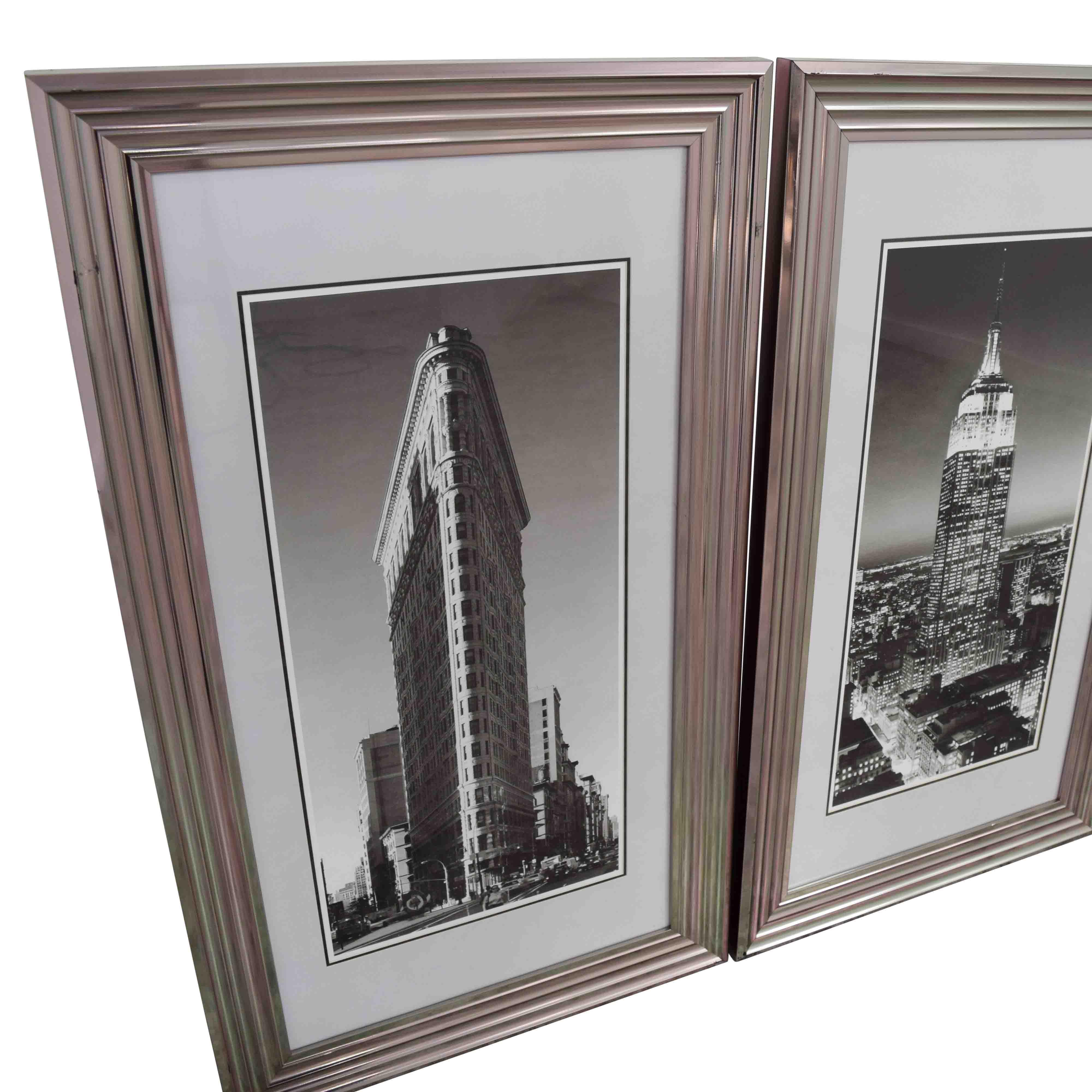 buy Modani Framed NYC Landmark Prints Modani