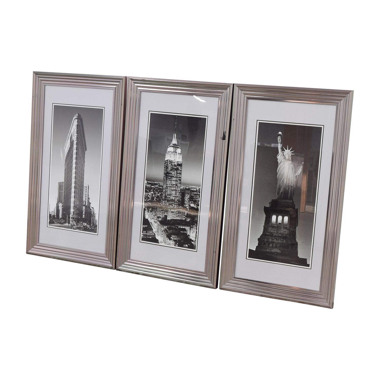 Modani Modani Framed NYC Landmark Prints
