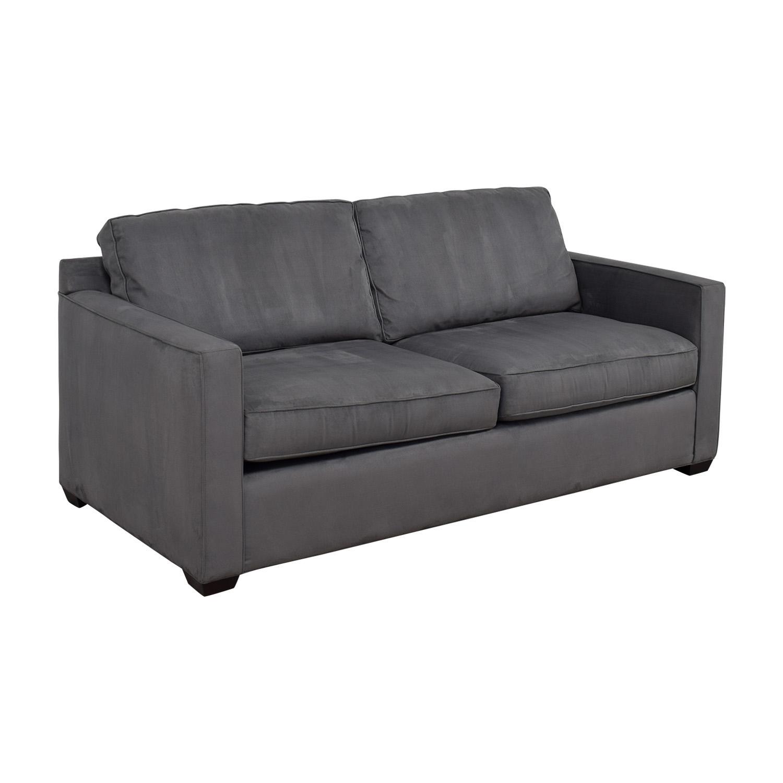 Crate & Barrel Crate & Barrel Davis Grey Sofa Sofas