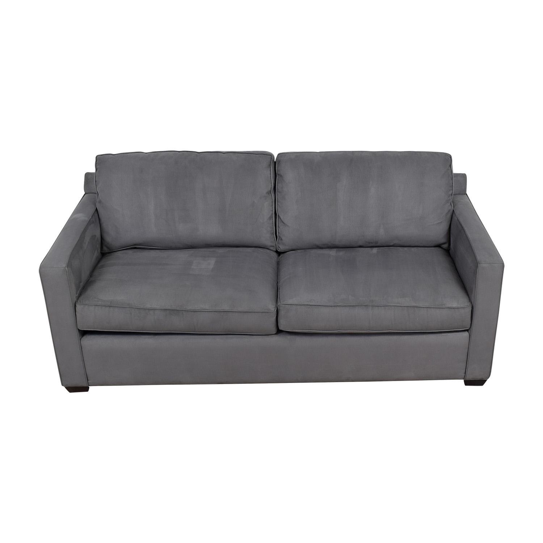 Crate & Barrel Crate & Barrel Davis Grey Sofa