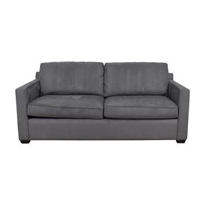buy Crate & Barrel Crate & Barrel Davis Grey Sofa online
