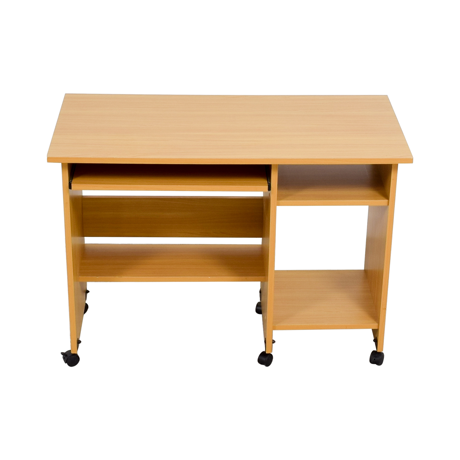 Rolling Computer Desk on sale