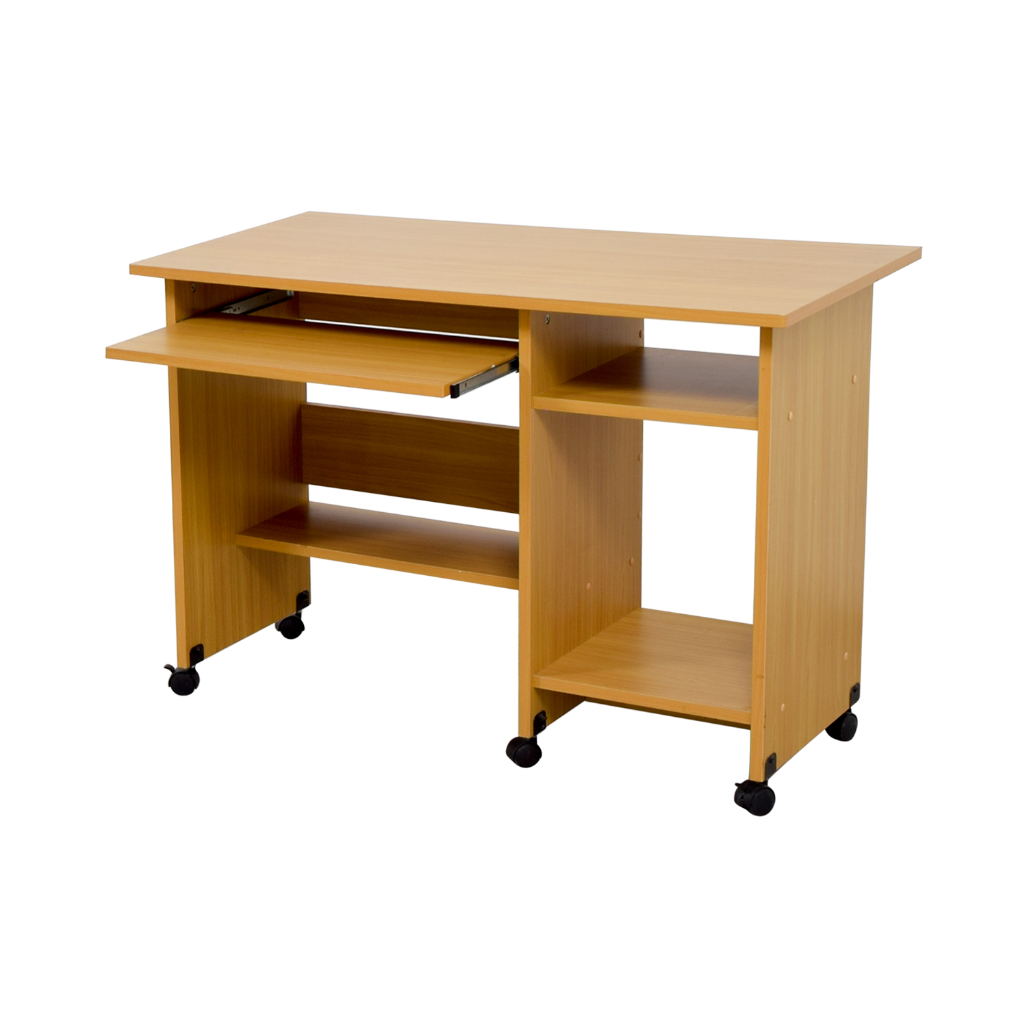 60 Off Rolling Computer Desk Tables